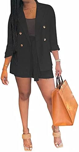 2 piece blazer and shorts _image0