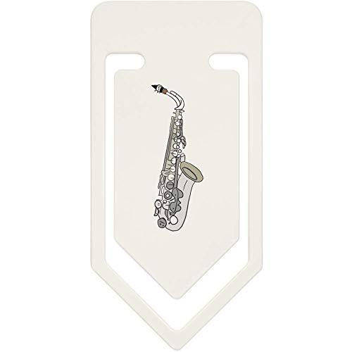 Azeeda 91mm 'Saxophon' Große Plastik Büroklammer (CC00046628)