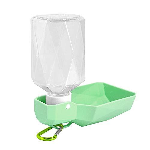 RKGD Botella de Agua para Perros Plegable de plástico para Mascotas Cachorro...
