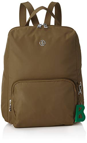 Bogner Damen Verbier Maxi Backpack Mvz Rucksack, Braun (Khaki), 4x32x27 cm