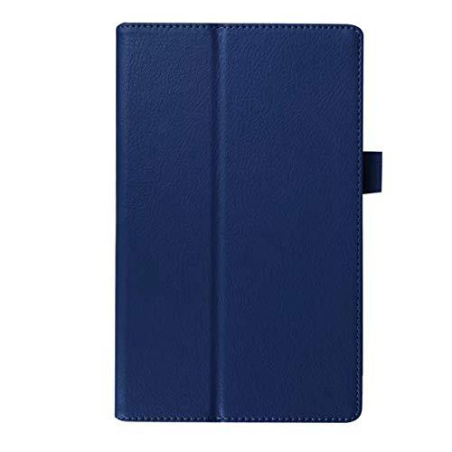 GOGODOG Lenovo Tab 2 A8-50F Coperchio Protettivo Ultra Magro Custodia Protettiva in Pelle con Protezione Totale per paraurti 8 Pollici Custodie rigide per Tablet TAB2 A8-50F (Blu Scuro)