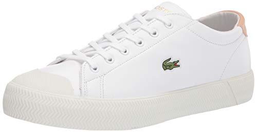 Lacoste Women's Gripshot Sneaker, White/Natural, 6.5