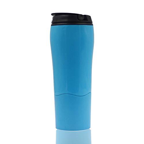Pioneer Clan Travel Mug 550 ml 19OZ Solo-Tazza da Viaggio (Blu)