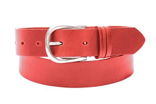 Tamaris Leather Belt W100 Red