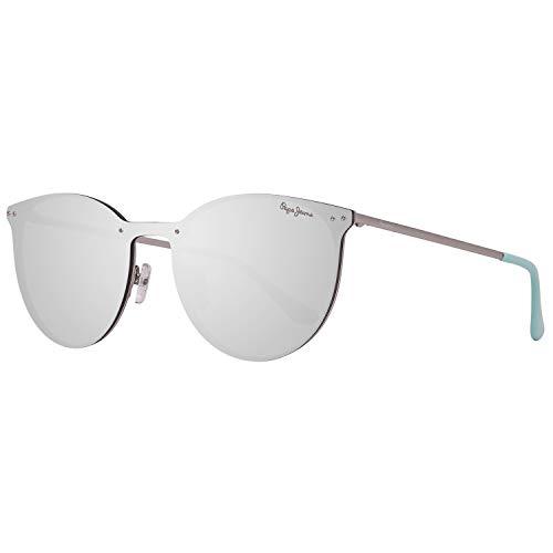 Pepe Jeans Sonnenbrille PJ5134 C3 130 Finna Damen Silber