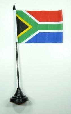 Fahne / Tischflagge Südafrika NEU 11 x 16 cm Flaggen by FahnenMax®