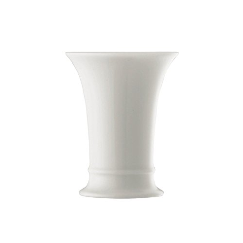 Hutschenreuther Vase, Porzellan, Weiss, Ø 8,2 / Höhe cm 10,1