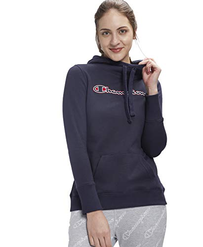 Champion by FBB Women's Full Sleeves Hooded Pullover |Red, Medium