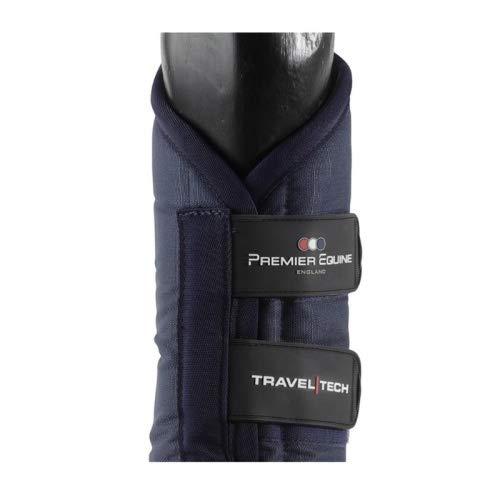 Premier Equine Transportgamaschen Travel-Tech Travel Boots Größe M, Farbe Navy