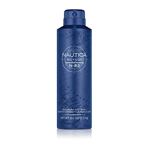 Nautica Voyage N-83 Body Spray, 6 Fl Oz