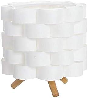 Dcasa Sobremesa Base Bambú Lámparas ambientadoras Anillos de Bombilla Decoración del hogar Unisex Adulto, 287019, única