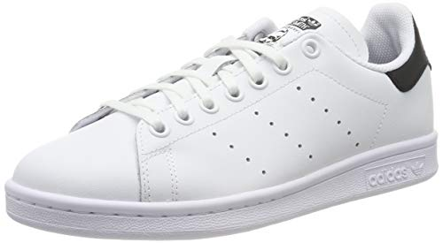 adidas Stan Smith J, Chaussures de Gymnastique Mixte Enfant, Blanc (FTWR White/Core Black/FTWR White FTWR White/Core Black/FTWR White), 37 1/3 EU