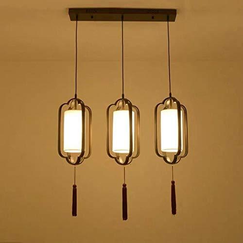 Nieuwe Chinese driekopse kandelaar antiek nachtkastje, decoratieve verlichting