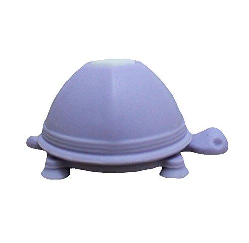 CAOLATOR Schildkröte Handy Halterung Auto Silikon Kfz Handyhalterung Tortoise Saugnapf für iPhone 6s mit Karikatur Niedlich Turtle Handy Kabelmanager Hellviolett