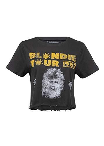 Women's Blondie 1982 Tour Cropped Tee, S, M, L