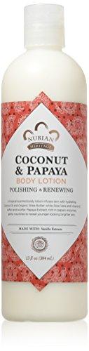 Nubian Heritage Coconut & Papaya Body Lotion 13 Oz