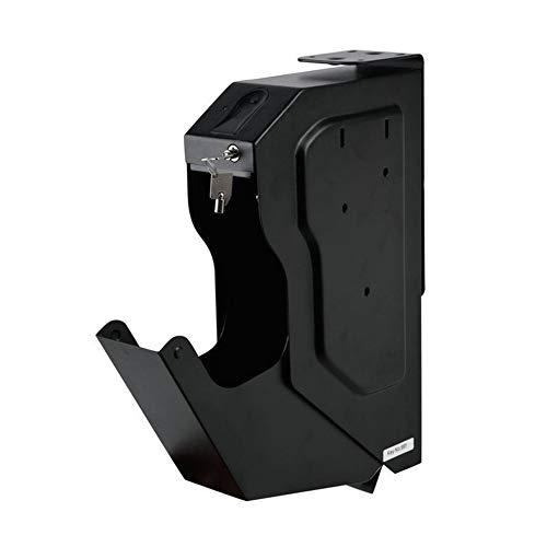 Empreintes digitales biométriques Coffre-fort Acier laminé à froid Pistolet de sécurité Strongbox Clé...