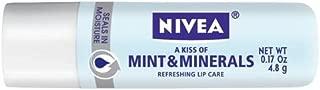 NIVEA Mint & Minerals Lip Care 0.17 oz (Pack of 3)