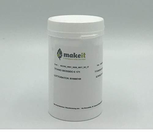 Esteras de dióxido de titanio (dióxido de titanio), filtro UV - Hágalo (250 g)