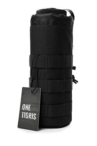 OneTigris Trinkflasche Halter Molle Flaschenhalter Nylon Wasserkocher Tasche Outdoor Sport Tactical Gear