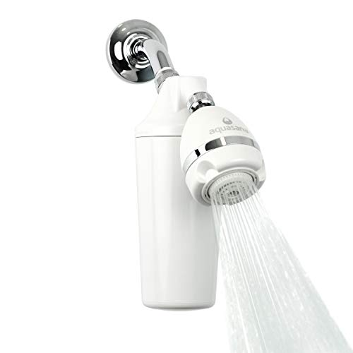 Aquasana AQ-4100 Deluxe Shower Water Filter System with...