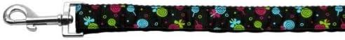 Regular discount Lollipops Nylon Ribbon Leash Black Wide 1 cheap Long inch 4ft