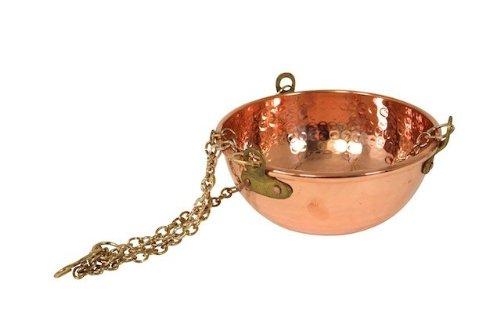 \'CopperGarden®\' hängende Kupferschale, 2 Liter