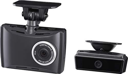 コムテック ドライブレコーダー HDR-951GW 2カメ安全運転支援 200万画素 Full HD 日本製&3年保証 常時録画 ...