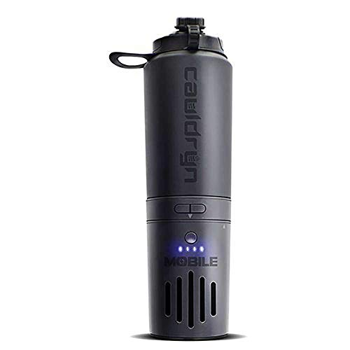 Cauldryn Fyre Mobile temperature-controlled battery-powered vacuum-insulated 16-ounce bottle