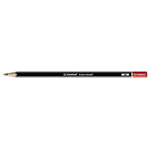 Bleistift - STABILO Exam Grade - 12er Pack - Härtegrad 2B
