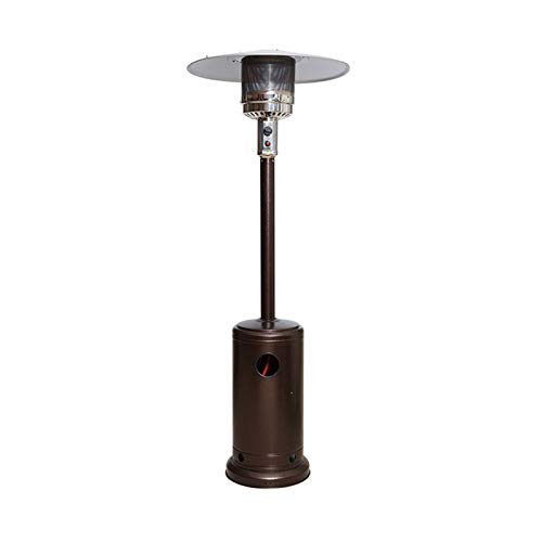 XIONGSHI Patio heater propane,Commercial Gas Standing Patio Heater Propane Heater Garden Tall Outside Outdoor Heater with Wheels Cover