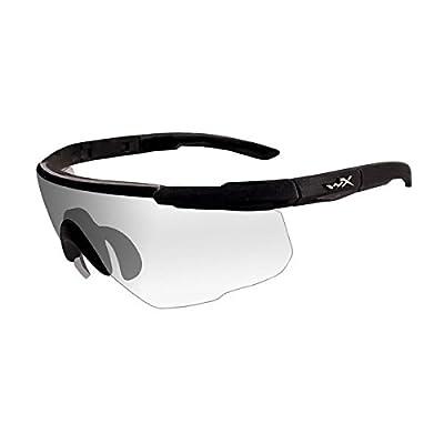 Wiley X Saber Advanced Sunglasses, Clear, Matte Black