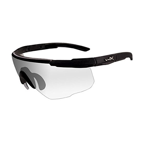 Check Out This Wiley X Saber Advanced Sunglasses, Clear, Matte Black