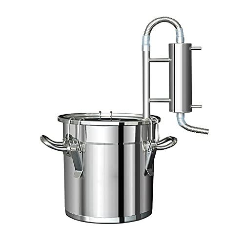 Nai-storage Equipo de elaboración de Cerveza Pure Dew, destilador de Alcohol de Acero Inoxidable 304 fácil de Usar destilador de Hierbas de Aceite de Agua Pura para el hogar