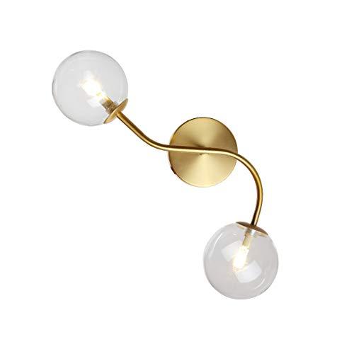 Lámpara de Pared Lámpara de Pared Personalidad Dormitorio Creativo Sala de Estar Pasillo Moderno Minimalista Restaurante Americano Pared Lámpara de Pared Interior Luces de Pared