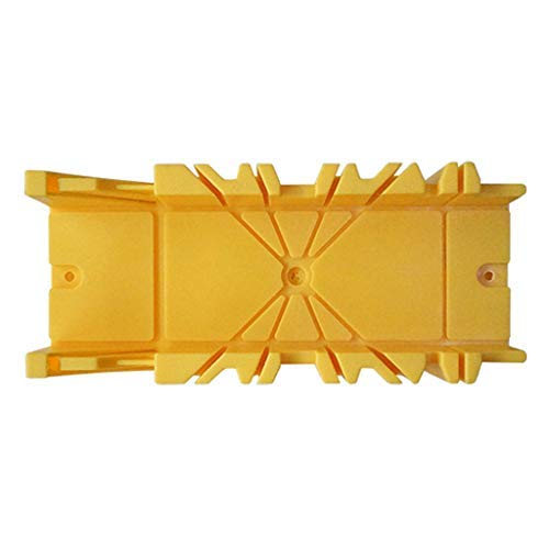 Home Décor Tools & Home Improvement Multifunctional Miter Saw Box Cabinet 0/22.5/45/90° Saw Guide Woodworking ToolSaw Cabinet - Yellow for Home DIY