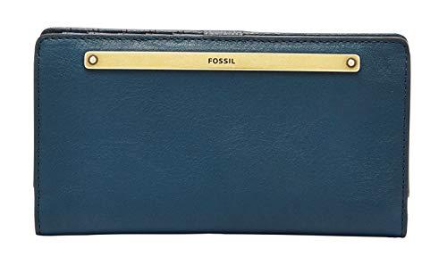 Fossil - Liza Slim Bifold Portafoglio Twilight Leather per donna SL7878497