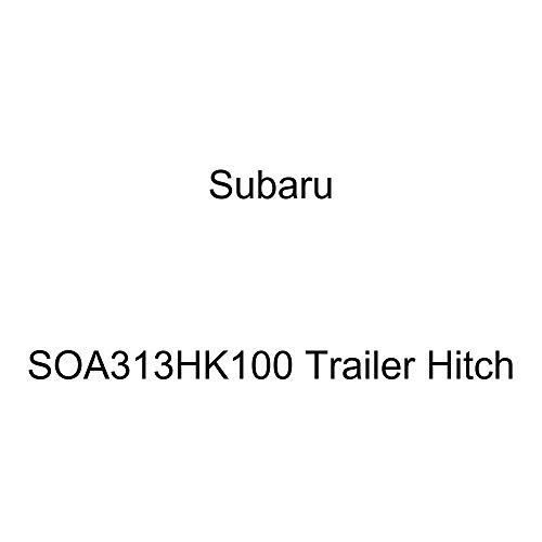 Best Price Subaru Genuine SOA313HK100 Trailer Hitch
