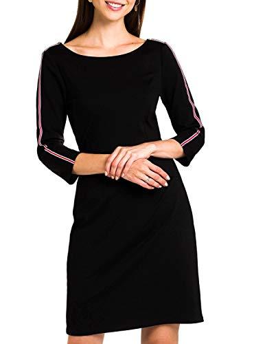 Naf Naf Vestido Negro para Mujer