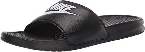 Nike Benassi Jdi Flip Flop da uomo, Donna, nero, 9 UK - 42.5 EU