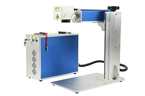 20w 110*110mm Detached Fiber laser marking machine