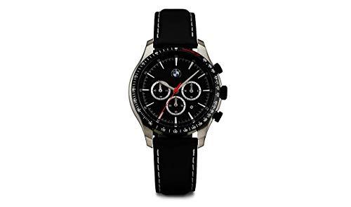 BMW ORIGINAL Chrono Lederarmband Armbanduhr Chronograph Uhr