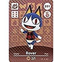 Rover - Nintendo Animal Crossing Happy Home Designer Amiibo Card - 201