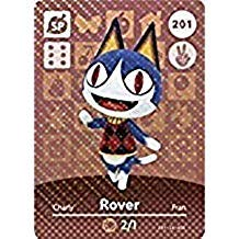 Rover - Nintendo Animal Crossing Happy Home Designer Amiibo Card - 201