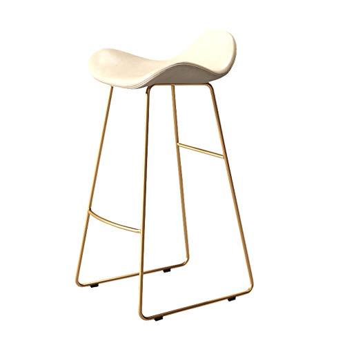 XXT - Sgabello da bar per casa, moderno, minimalista, sedia da bar, sedile anteriore, sgabello alto (colore: A, dimensioni: 70 cm)