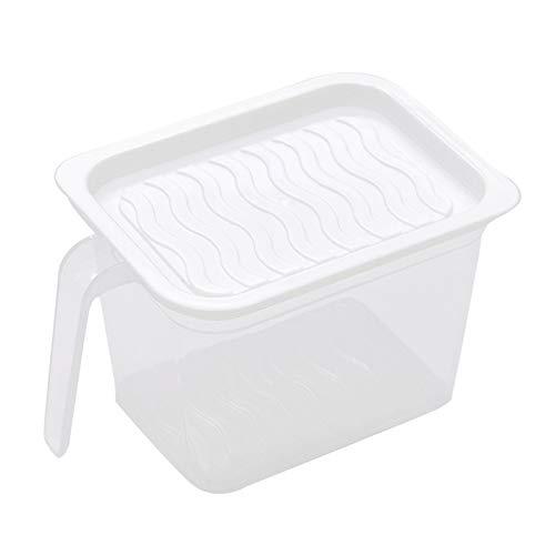 WE-WHLL Refrigerador Caja de mantenimiento de frescura de múltiples capas Caja de almuerzo de estilo japonés Dumpling Contenedor de almacenamiento de alimentos secos Almacenamiento de nevera de cocina