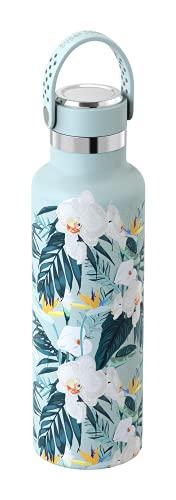 Super Sparrow Botella Agua Acero Inoxidable 18/10 - Botella Termica Ultraligera - 750ml - Termo Sin BPA, Botella Agua Niños, para Deporte, Viaje, Escuela, Exterior, Oficina, Hogar