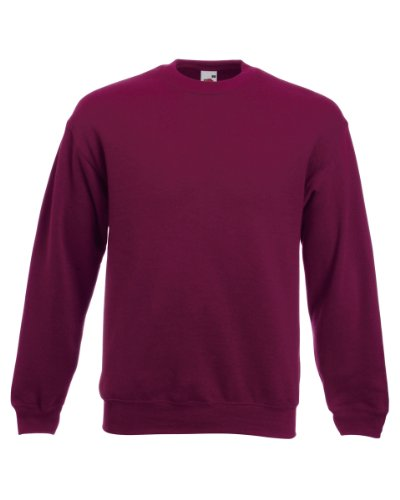 Sweatshirt classique - SS200 - Fruit of the Loom - rouge - petit