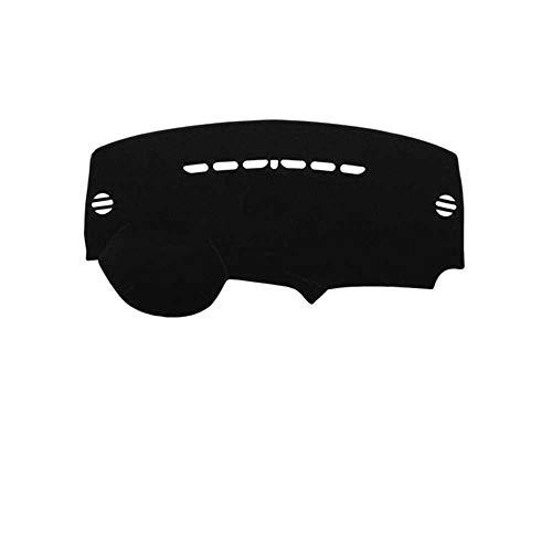 MPOQZI Car Styling Dashboard Cover Dash Mat Pad Carpet Dashmat Sun Shade Pad, Apto para Peugeot 3008 I 2008 2009 2010 2011 2012 2013 2014 2015 2016