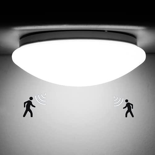 Decoratieve kroonluchter, plafondlamp, Peahog 12 W 220 V led-plafondlamp, ronde buitenbewegingssensor, oppervlaktemontage, Home Living kinderkamer, keuken, kantoor, verlichting, sensor koudwit